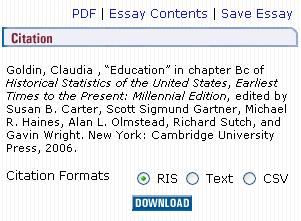 essay citation